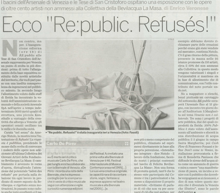 Republic refuses